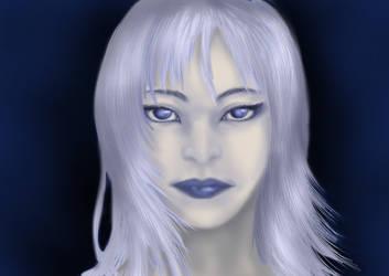 Practice portrait 2 by KashiDesu