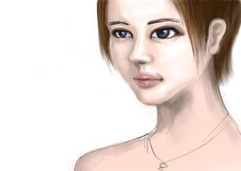 Practice portrait 3 by KashiDesu