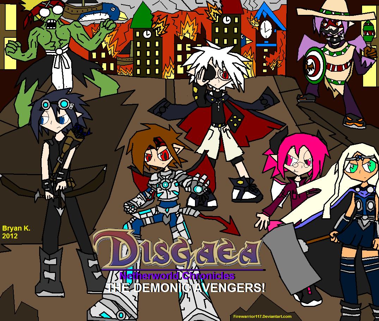 Demonic Avengers Unite! by Firewarrior117