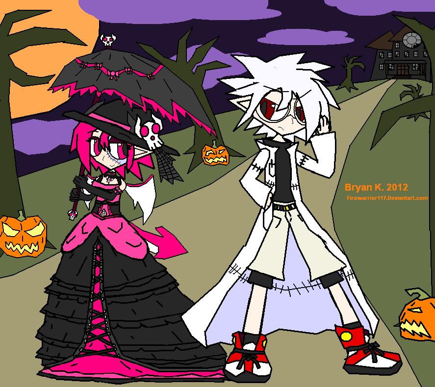 Netherworld Halloween 1 by Firewarrior117