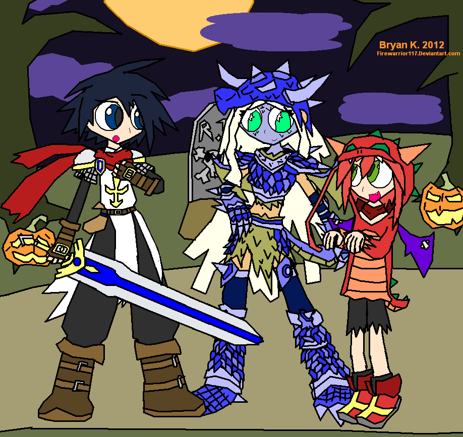 Netherworld Halloween 2 by Firewarrior117