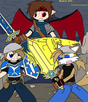 Clash of Heroes by Firewarrior117