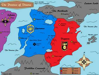 Map of Vitaria by Firewarrior117