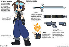 The Blue Swordsman