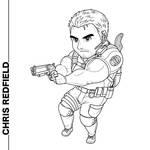 Chibi Chris Redfield