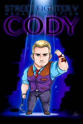 Chibi Cody (Street Fighter V) by iszac87