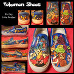 Pokemon shoes by Miss-Melis