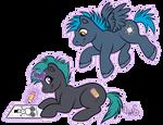 Chibi Ponies for CanineHybrid