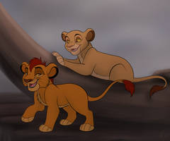 Young Mufasa And Sarabi