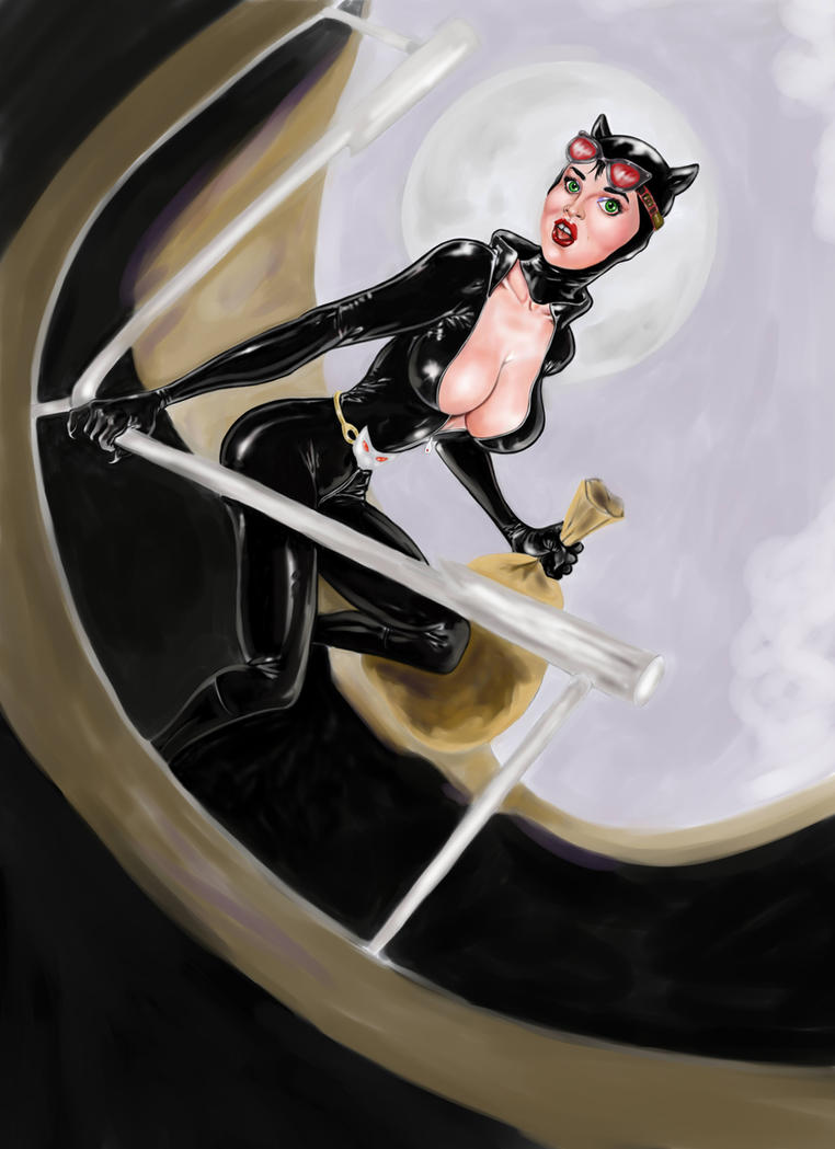 cat woman 6 color by kaskajo