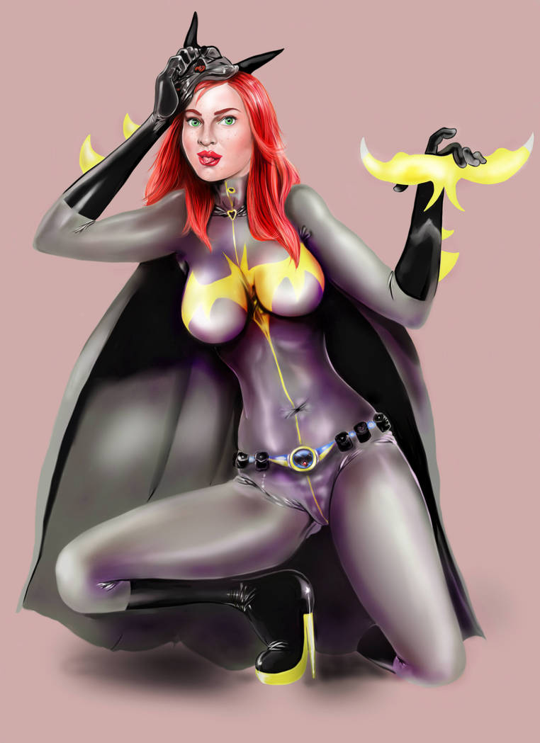 barbara gordon se quita la mascara by kaskajo