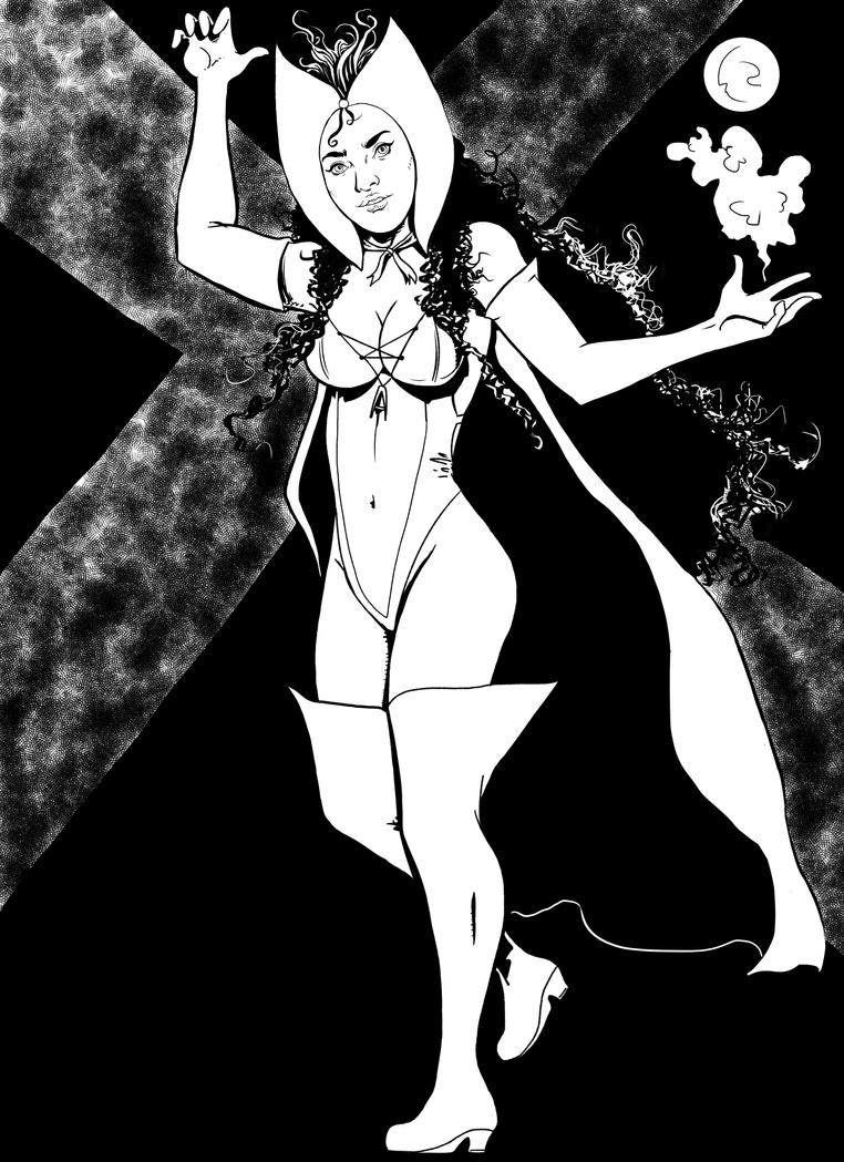 bruja escarlata. by kaskajo
