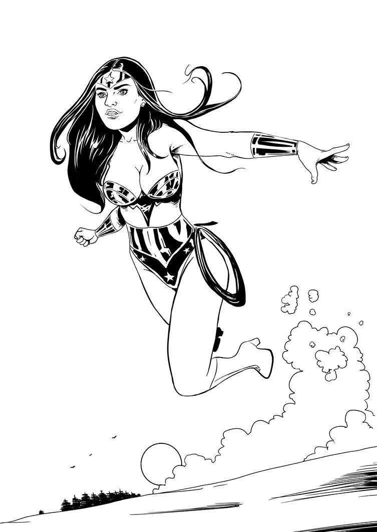 wonderwoman by kaskajo