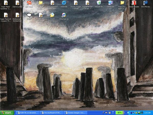 Screen of Korriban by RGM-79L