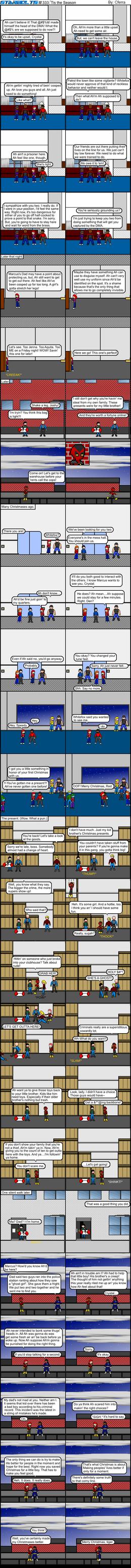Starbolts #333:  'Tis the Season by Cferra1