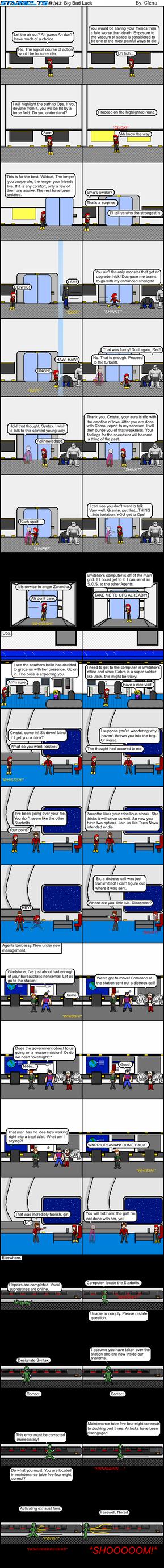 Starbolts #343: Big Bad Luck by Cferra1