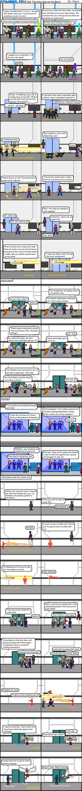 Starbolts #346: The New Kids on the Block by Cferra1