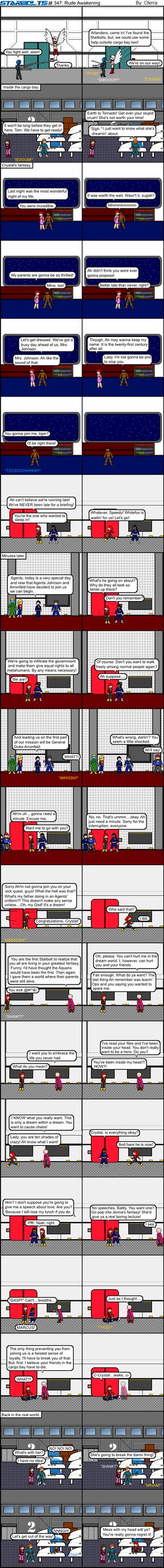 Starbolts #347: Rude Awakening by Cferra1
