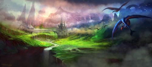 Mountain Kingdom by FerdinandLadera