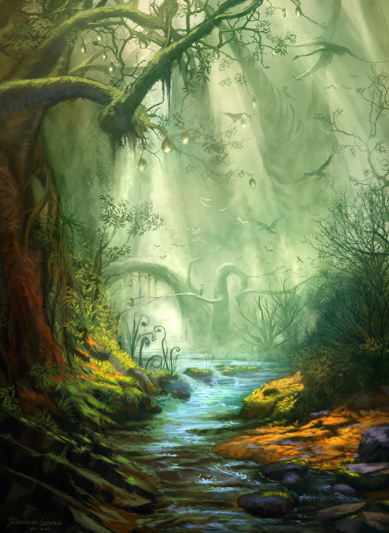 Enchanted Forest By Ferdinandladera On Deviantart