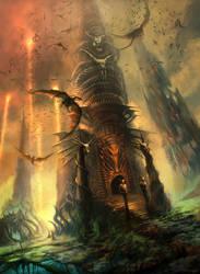 Sentries Of The Wyrm's Lair by FerdinandLadera