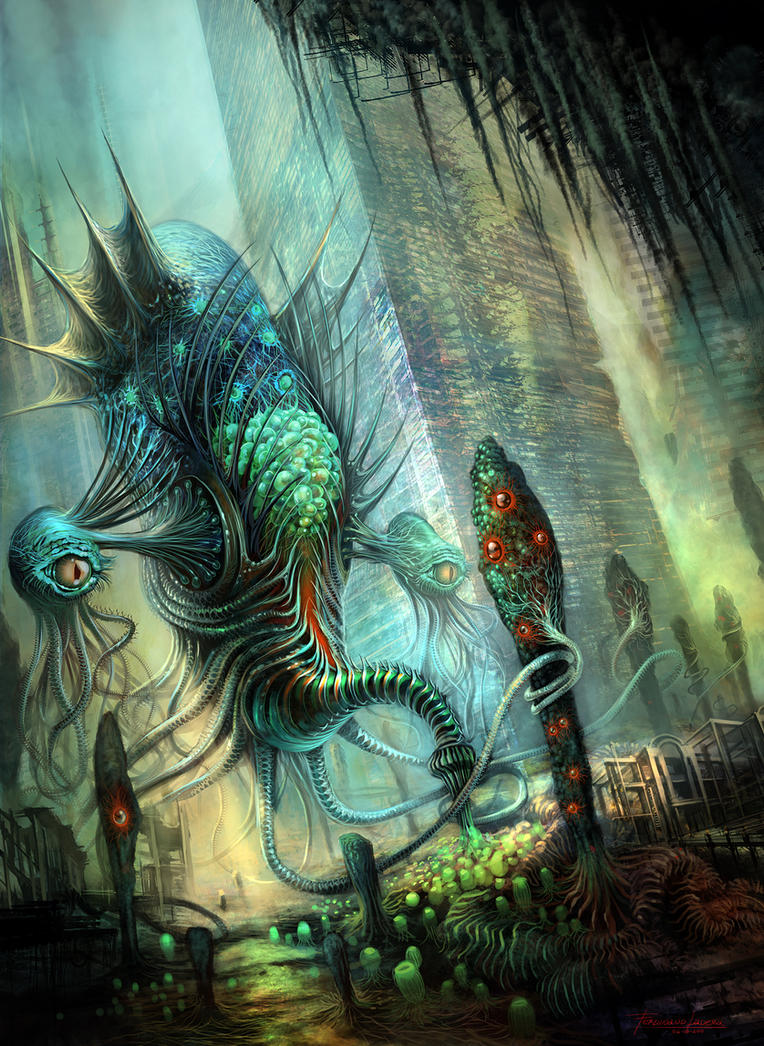RIFT: Water Colossus by FerdinandLadera