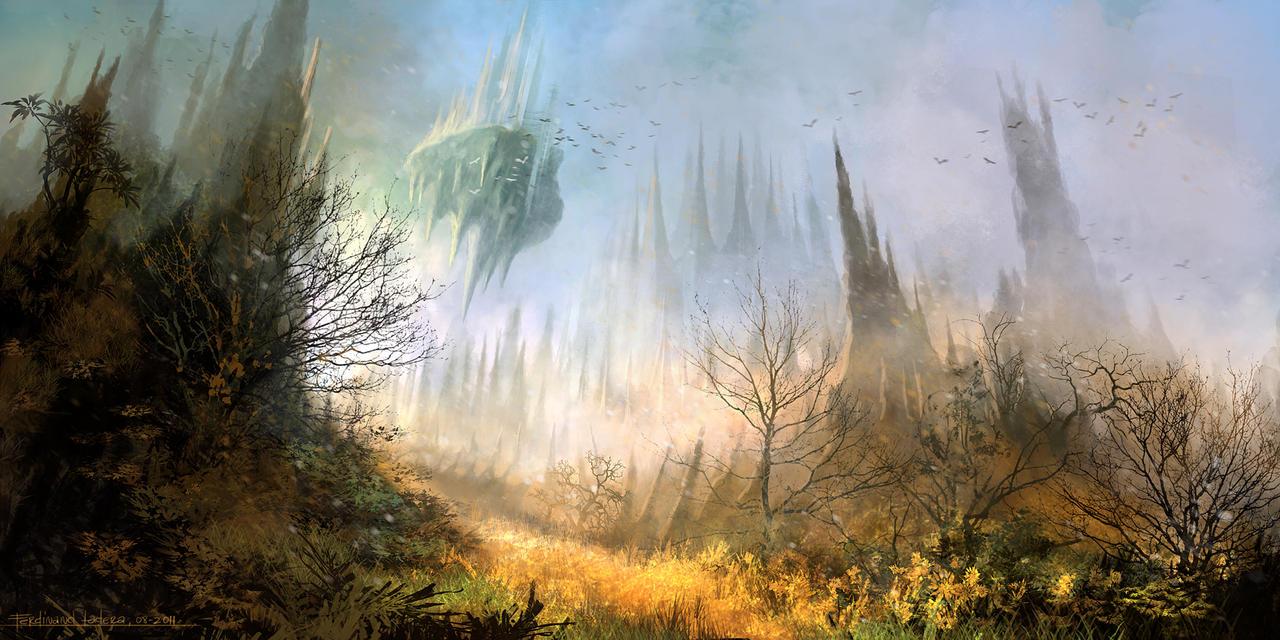 Mysterious Mountain by FerdinandLadera