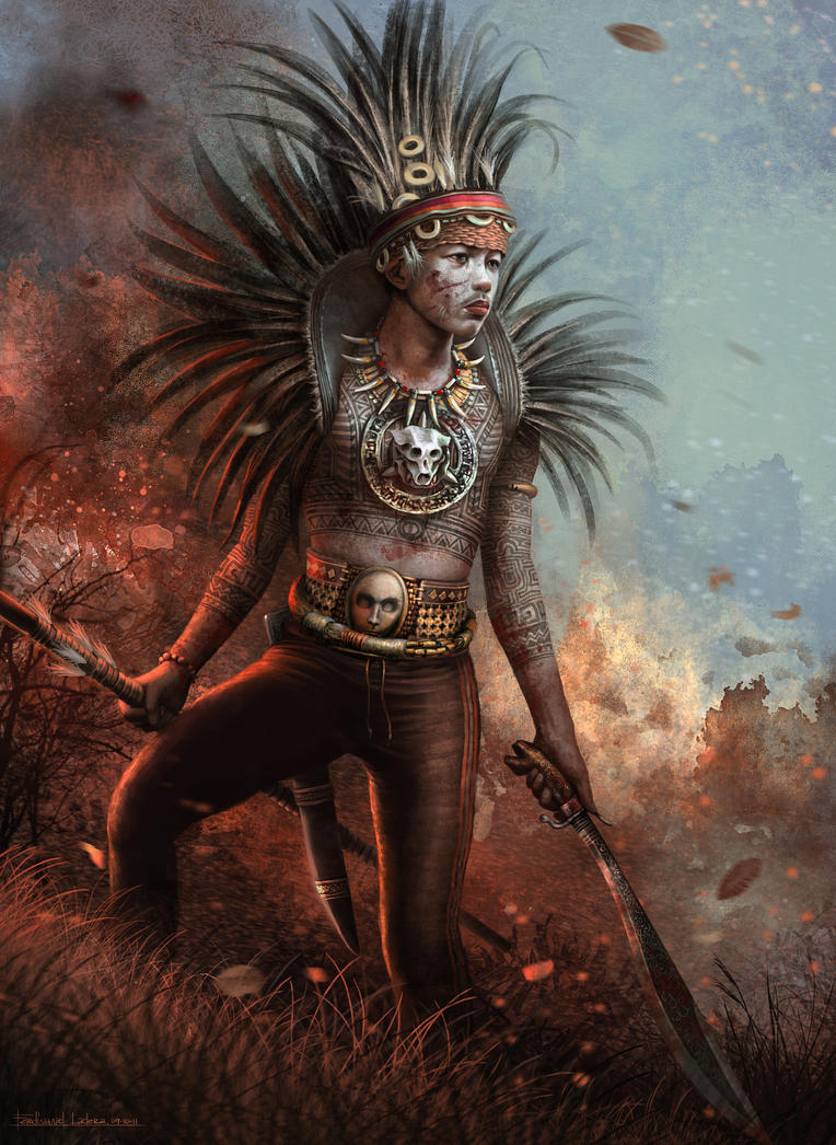 Ibaloy Warrior by FerdinandLadera