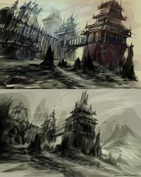 Watch Tower by FerdinandLadera