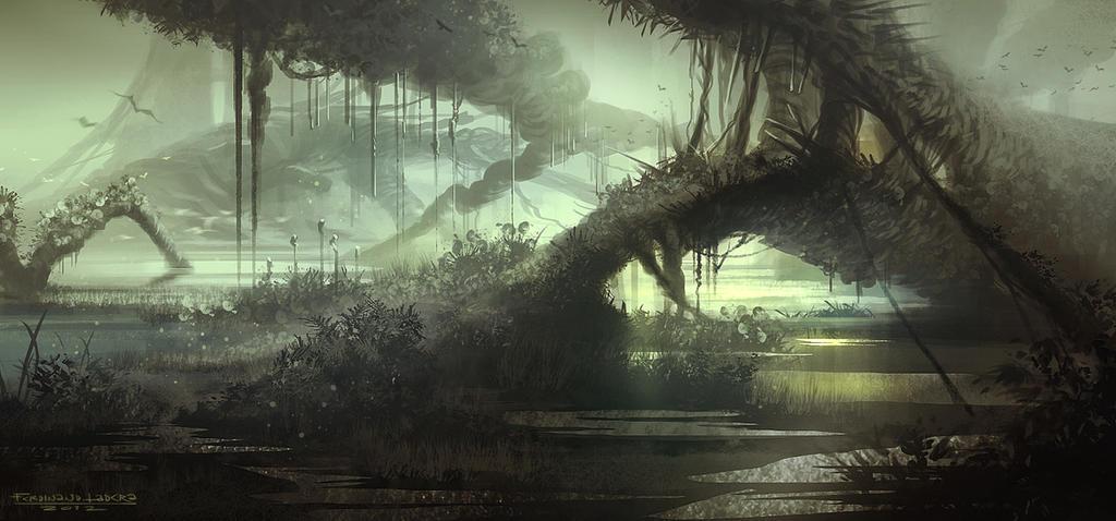 Mysterious Wetlands: The Gateway by FerdinandLadera