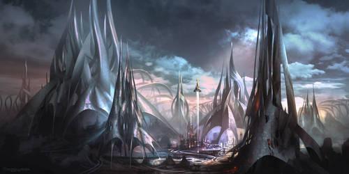 The City of Galatea by FerdinandLadera