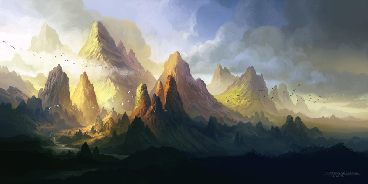The Land of Angol-elm by FerdinandLadera