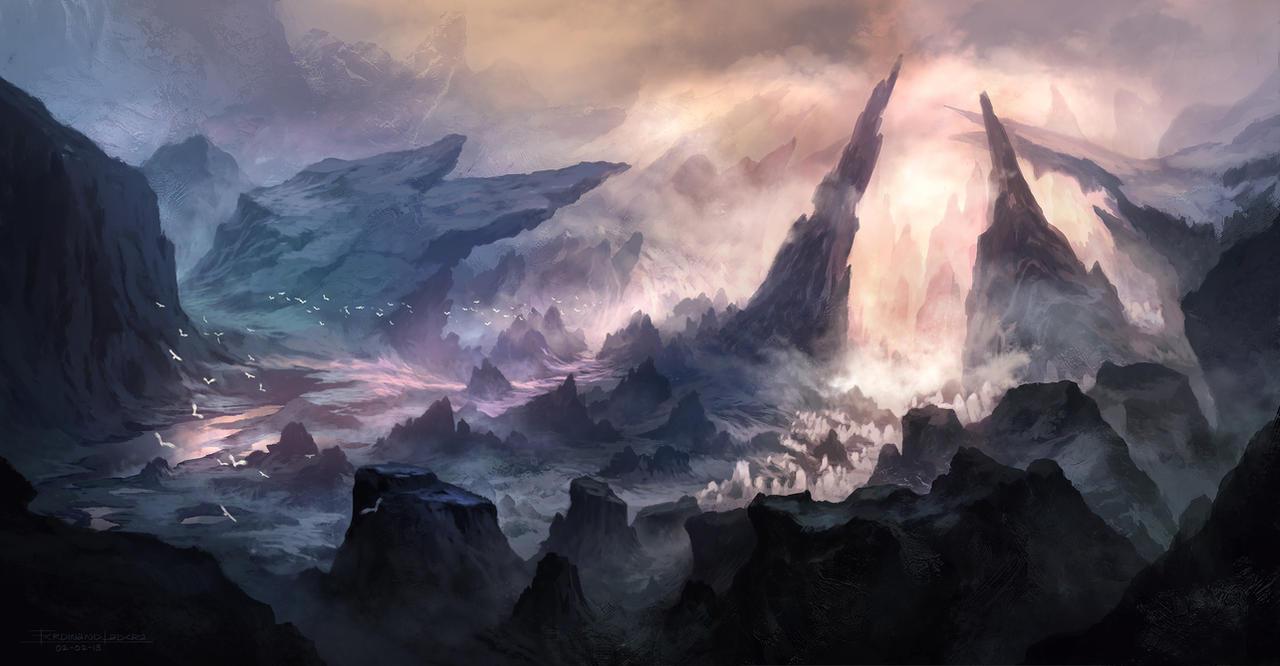 Hidden Valley by FerdinandLadera