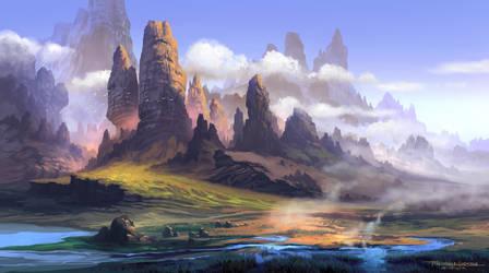Mt. Saimour by FerdinandLadera