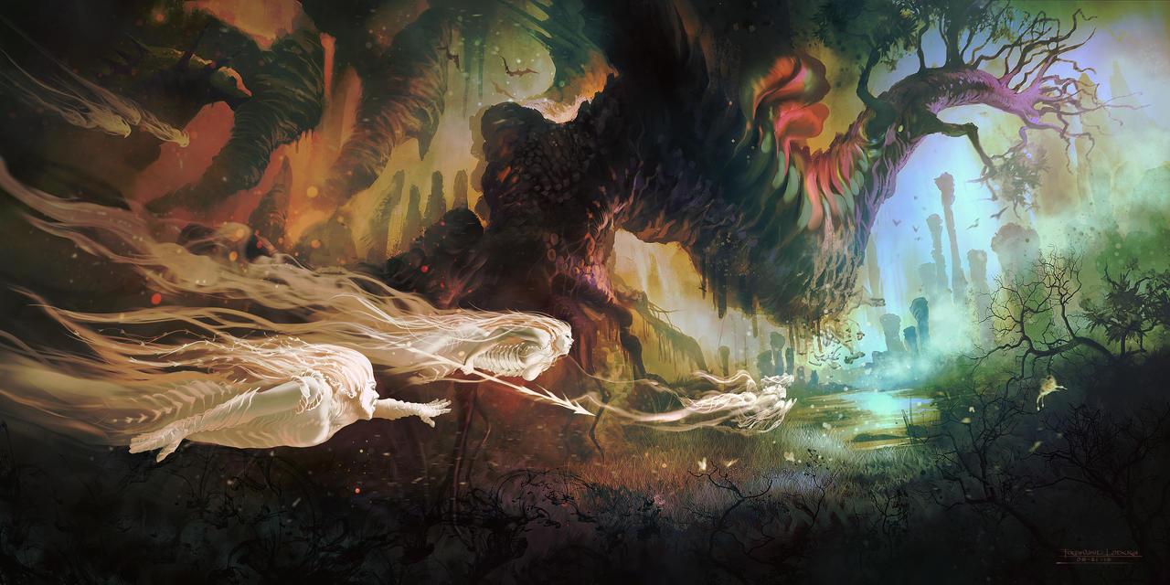 Spirit Hunter by FerdinandLadera