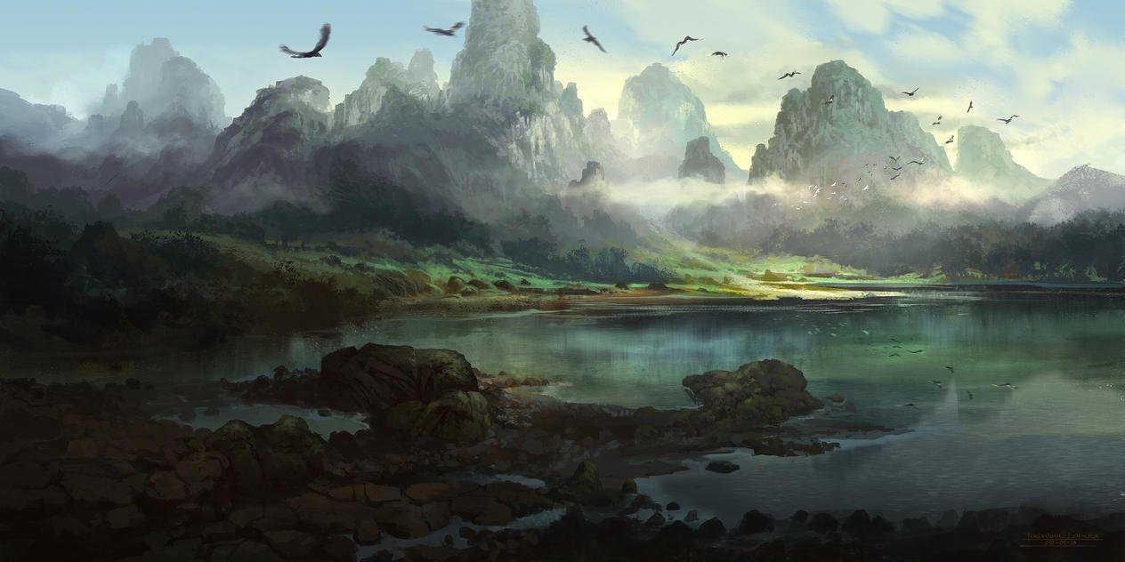 Morning mist by FerdinandLadera