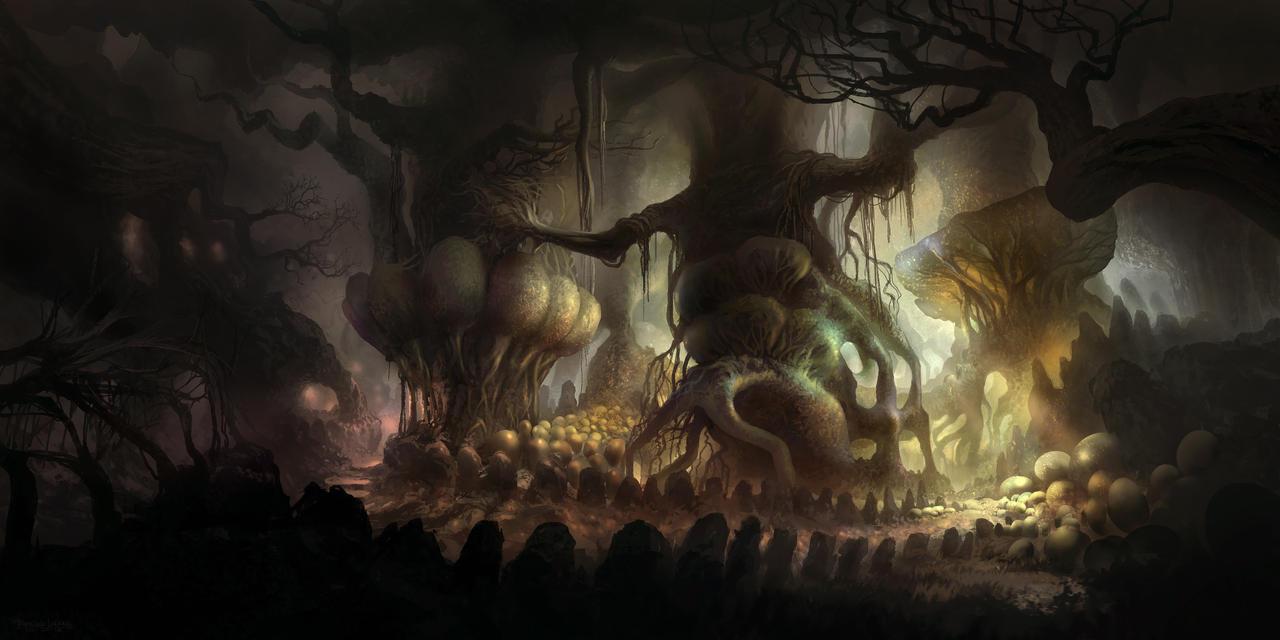 Mystical Woods by FerdinandLadera