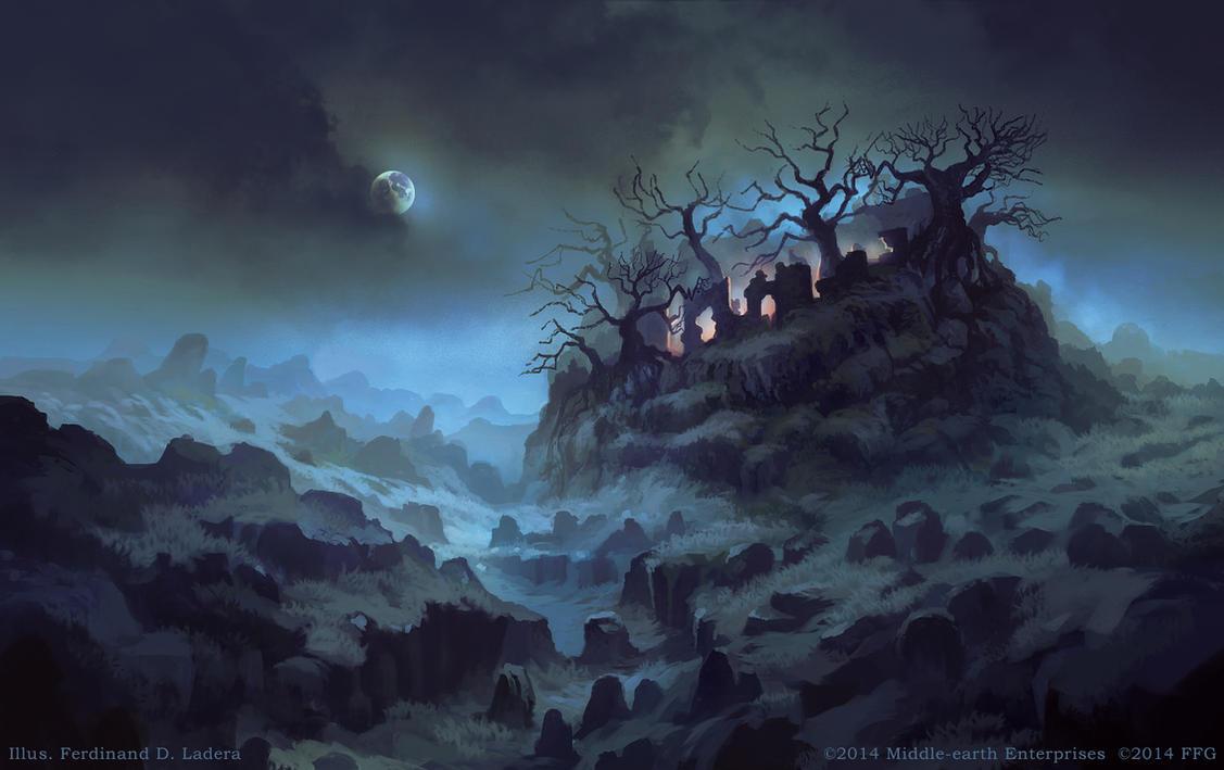 Tree-crowned Hill by FerdinandLadera