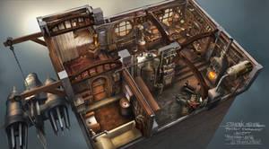 Steampunk Interior