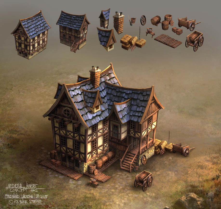 Medieval House by FerdinandLadera