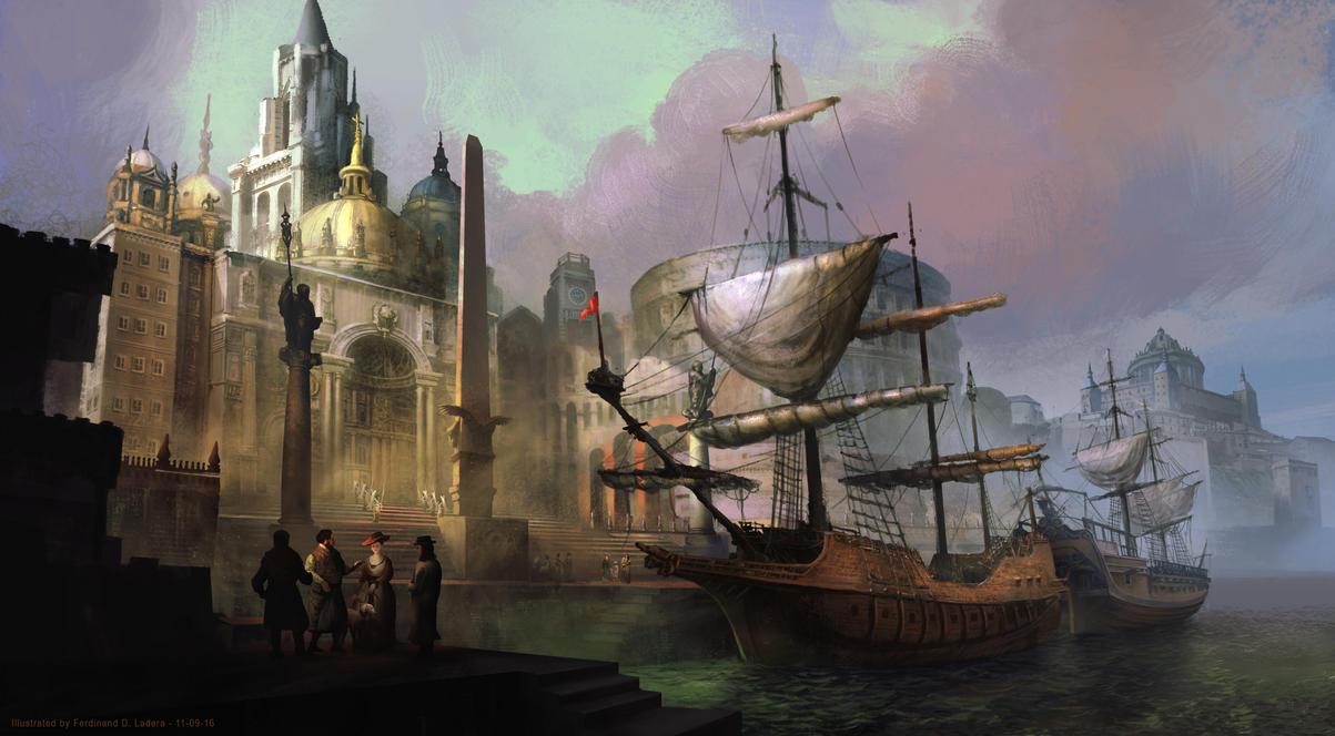 The Traders by FerdinandLadera