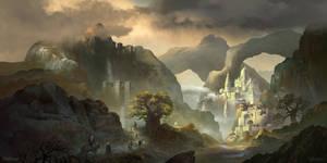 Shansatia Temple by FerdinandLadera