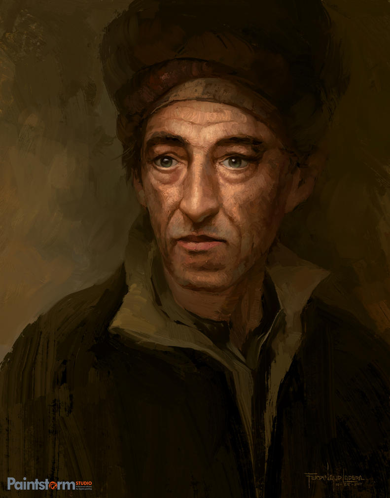 Portrait Sketch 01 by FerdinandLadera