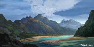 Landscape-sketch02 by FerdinandLadera
