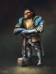 Gauwyn: Half-Orc Fighter by FerdinandLadera