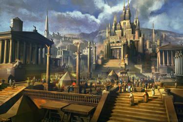 Palace by FerdinandLadera
