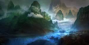 Blue River by FerdinandLadera