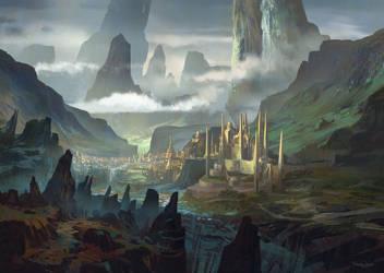 Taevaskoja kuningriik by FerdinandLadera