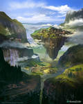 The Valley of the Nethershade (before)