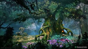 The Feywyrd forest